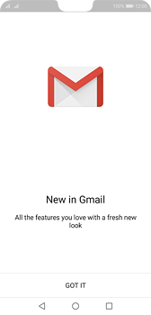 Huawei P20 - E-mail - Manual configuration (gmail) - Step 4