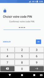 Sony Xperia XZ1 - Sécuriser votre mobile - Activer le code de verrouillage - Étape 10
