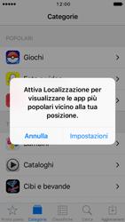 Apple iPhone 5s iOS 10 - Applicazioni - Installazione delle applicazioni - Fase 4