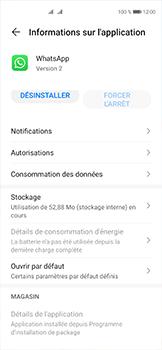 Huawei P40 - Applications - Supprimer une application - Étape 6