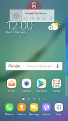 Samsung Galaxy S6 Edge - Android Nougat - Operazioni iniziali - Installazione di widget e applicazioni nella schermata iniziale - Fase 9