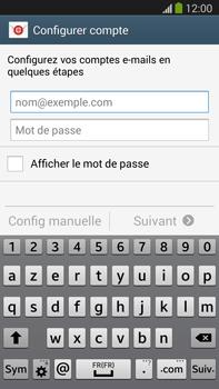 Samsung Galaxy Note III LTE - E-mail - configuration manuelle - Étape 5