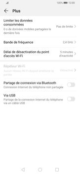 Huawei P Smart Z - Internet et connexion - Utiliser le mode modem par USB - Étape 8