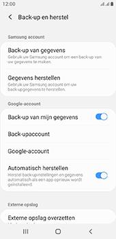 Samsung galaxy-a6-sm-a600fn-ds-android-pie - Instellingen aanpassen - Back-up maken in je account - Stap 7