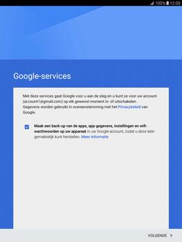 Samsung T815 Galaxy Tab S2 9.7 - E-mail - Handmatig instellen (gmail) - Stap 15