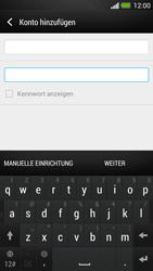 HTC One - E-Mail - Konto einrichten - Schritt 7