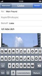 Apple iPhone 5 - E-Mail - E-Mail versenden - Schritt 11