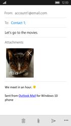 Acer Liquid M330 - E-mail - Sending emails - Step 15