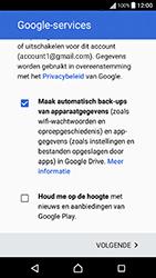 Sony Xperia X Performance (F8131) - Applicaties - Account instellen - Stap 17