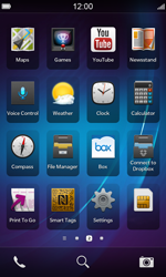 BlackBerry Z10 - Internet - Manual configuration - Step 3