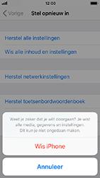 Apple iPhone SE - iOS 12 - Toestel - Fabrieksinstellingen terugzetten - Stap 8