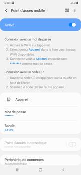 Samsung Galaxy Note20 Ultra 5G - Internet et connexion - Partager votre connexion en Wi-Fi - Étape 12