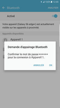 Samsung Samsung Galaxy S6 Edge+ - Android M - Bluetooth - connexion Bluetooth - Étape 9