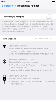 Apple iphone-7-plus-met-ios-10-model-a1784 - WiFi - Mobiele hotspot instellen - Stap 4