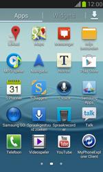 Samsung I8190 Galaxy S III Mini - Applicaties - Account aanmaken - Stap 3