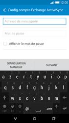 HTC Desire 816 - E-mails - Ajouter ou modifier un compte e-mail - Étape 6