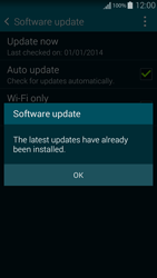 Samsung G850F Galaxy Alpha - Software - Installing software updates - Step 10
