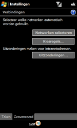 Samsung B7610 Omnia Qwerty - Internet - Handmatig instellen - Stap 7