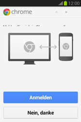 Samsung Galaxy Fame Lite - Internet und Datenroaming - Verwenden des Internets - Schritt 5
