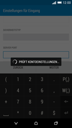 HTC One Mini 2 - E-Mail - Konto einrichten - Schritt 12
