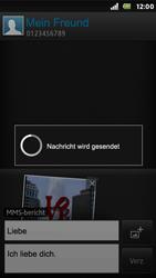 Sony Xperia U - MMS - Erstellen und senden - 18 / 19
