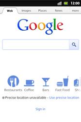 Sony ST27i Xperia Go - Internet - Internet browsing - Step 4