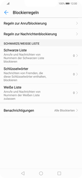 Huawei Mate 20 Lite - Anrufe - Anrufe blockieren - Schritt 6