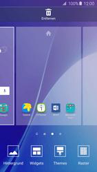 Samsung Galaxy A5 (2016) (A510F) - Startanleitung - Installieren von Widgets und Apps auf der Startseite - Schritt 4