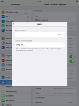 Apple iPad Air - E-mail - handmatig instellen - Stap 17