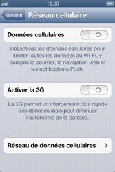 Apple iPhone 4S - MMS - Configuration manuelle - Étape 5