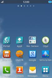 Samsung Wave M - Contact, Appels, SMS/MMS - Envoyer un SMS - Étape 1