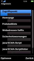 Sony Ericsson U5i Vivaz - Internet - Manuelle Konfiguration - 22 / 29