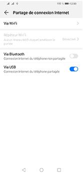 Huawei Y5 (2019) - Internet et connexion - Utiliser le mode modem par USB - Étape 8