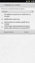 Sony Xperia S - E-mail - Configuration manuelle - Étape 14