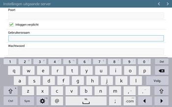 Samsung T535 Galaxy Tab 4 10-1 - E-mail - Account instellen (POP3 met SMTP-verificatie) - Stap 14