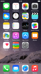 Apple iPhone 6 Plus - iOS 8 - Risoluzione del problema - E-mail e messaggistica - Fase 1