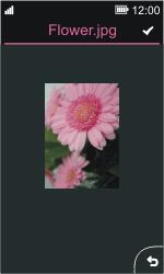 Nokia Asha 311 - MMS - afbeeldingen verzenden - Stap 13