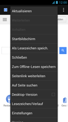 Alcatel One Touch Idol - Internet und Datenroaming - Verwenden des Internets - Schritt 8