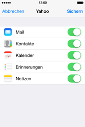 Apple iPhone 4 S - E-Mail - Konto einrichten (yahoo) - 2 / 2