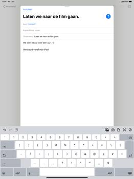 Apple iPad Pro 12.9 inch 4th generation (2020) (Model A2232) - E-mail - Hoe te versturen - Stap 8