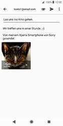 Sony Xperia XZ2 Compact - E-Mail - E-Mail versenden - 14 / 16
