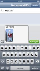 Apple iPhone 5 - MMS - envoi d'images - Étape 12