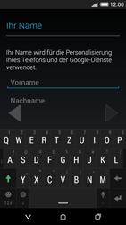 HTC Desire 620 - Apps - Konto anlegen und einrichten - 5 / 23