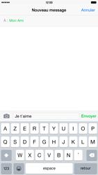 Apple iPhone 6 Plus - MMS - Envoi d