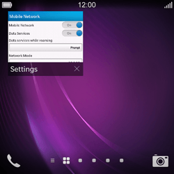 BlackBerry Q10 - Internet - Manual configuration - Step 12