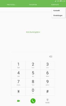 Samsung Galaxy Tab A 10-1 - Anrufe - Rufumleitungen setzen und löschen - Schritt 5