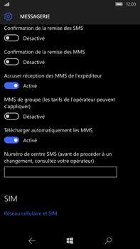 Microsoft Lumia 950 XL - SMS - configuration manuelle - Étape 8