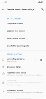 OnePlus 7T Pro - Sécuriser votre mobile - Personnaliser le code PIN de votre carte SIM - Étape 5