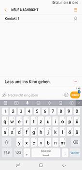 Samsung Galaxy A8 Plus (2018) - MMS - Erstellen und senden - 15 / 25