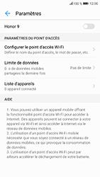 Honor 9 - Internet et connexion - Partager votre connexion en Wi-Fi - Étape 9